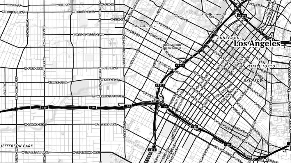 Los Angeles Streets