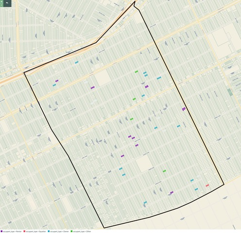 MAP: Occupant Type of MorningSide Foreclosures