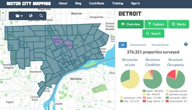 MOTOR CITY MAPPING - Landgrid on